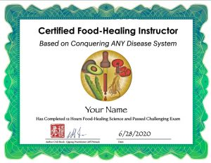 Food-Healing Certification